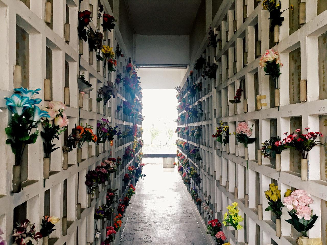 Reflections in Mandai Crematorium
