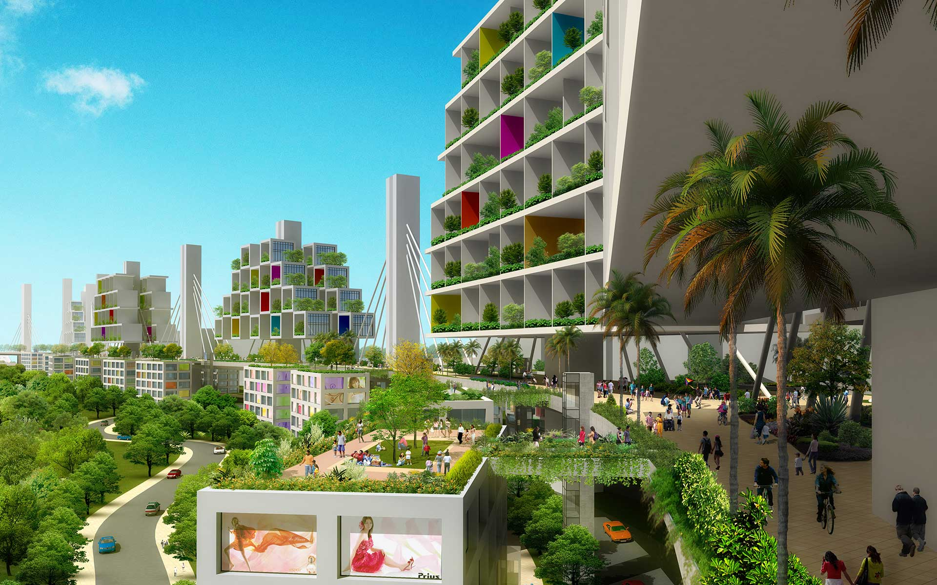 A Singaporean Architect Wants to Reclaim Land From the Sky