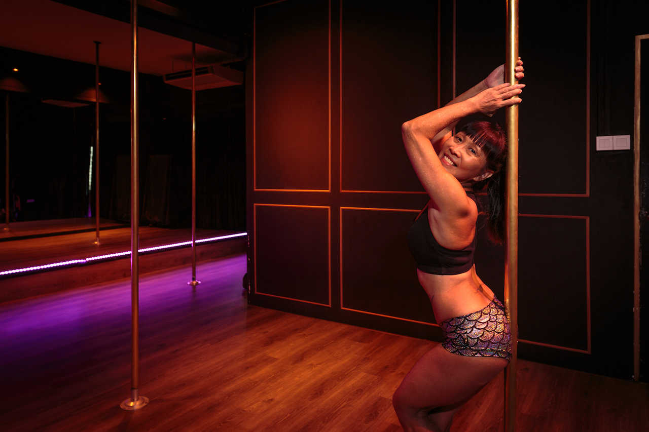 Meet the Lady Who Took Up Pole Dancing at 50