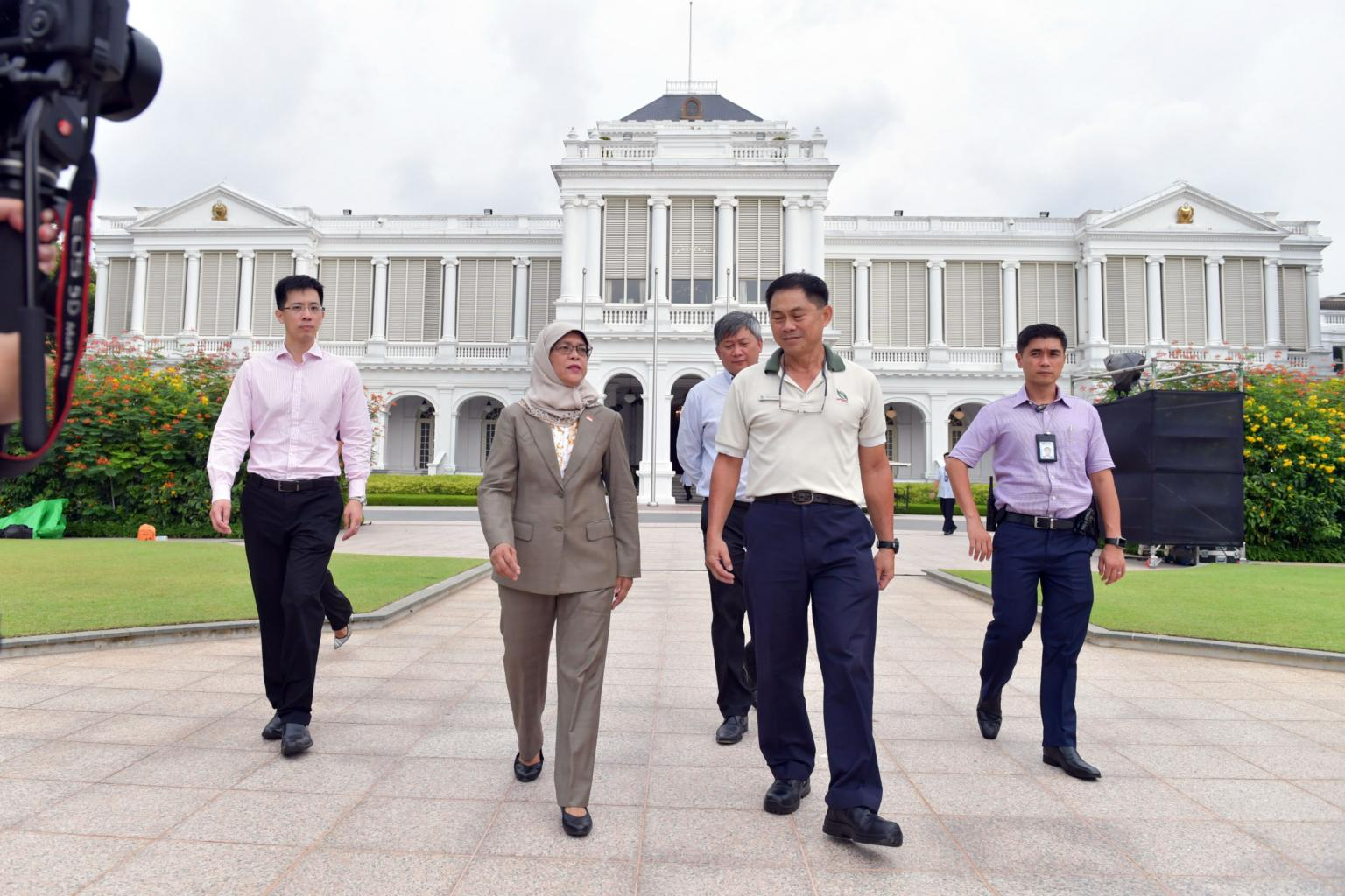 Halimah Yacob Just Made the Last Exciting Decision of Her Career