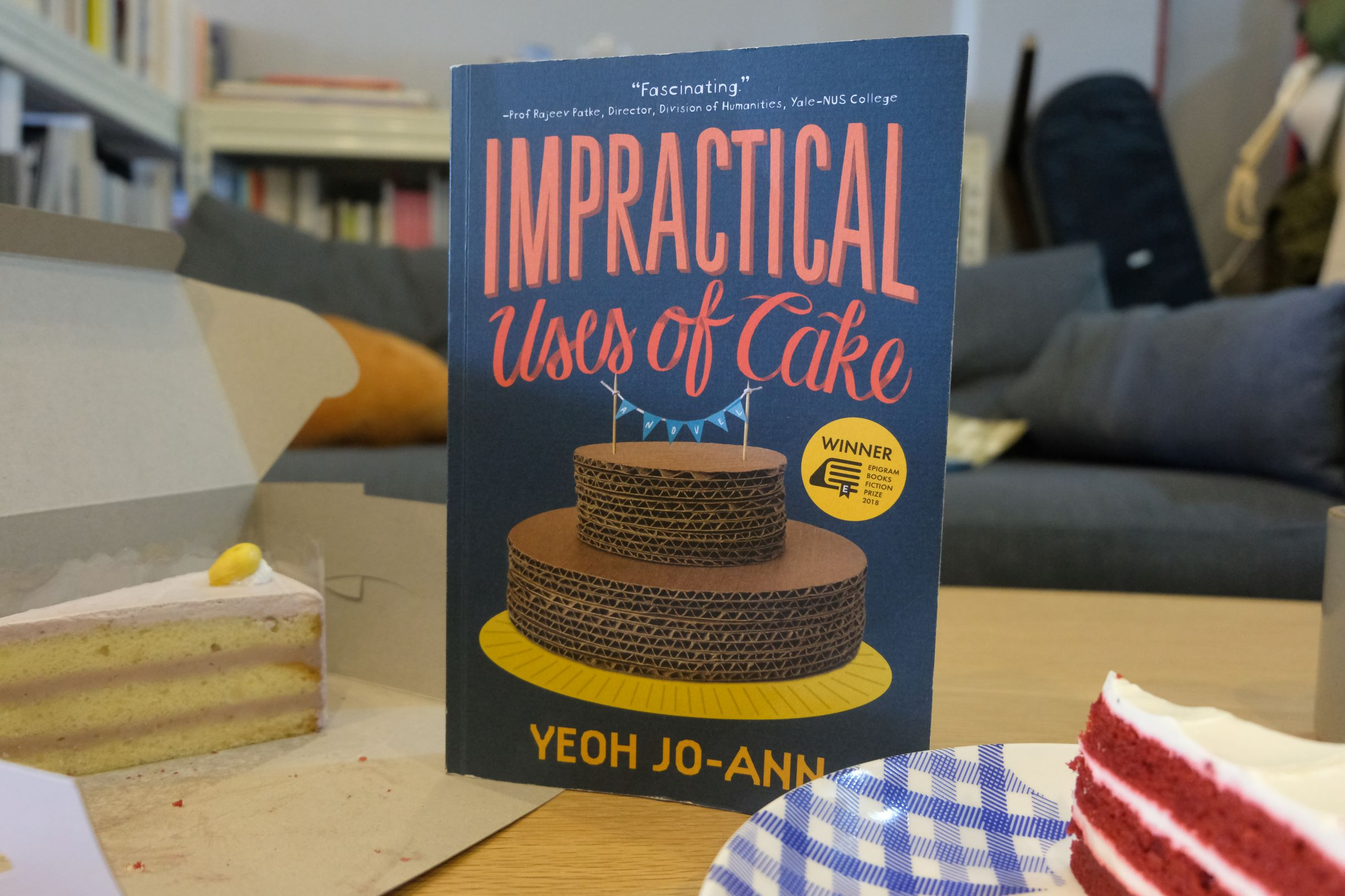 Review: The Impractical Uses Of Cake, 2019's Epigram Books Fiction Prize Winner