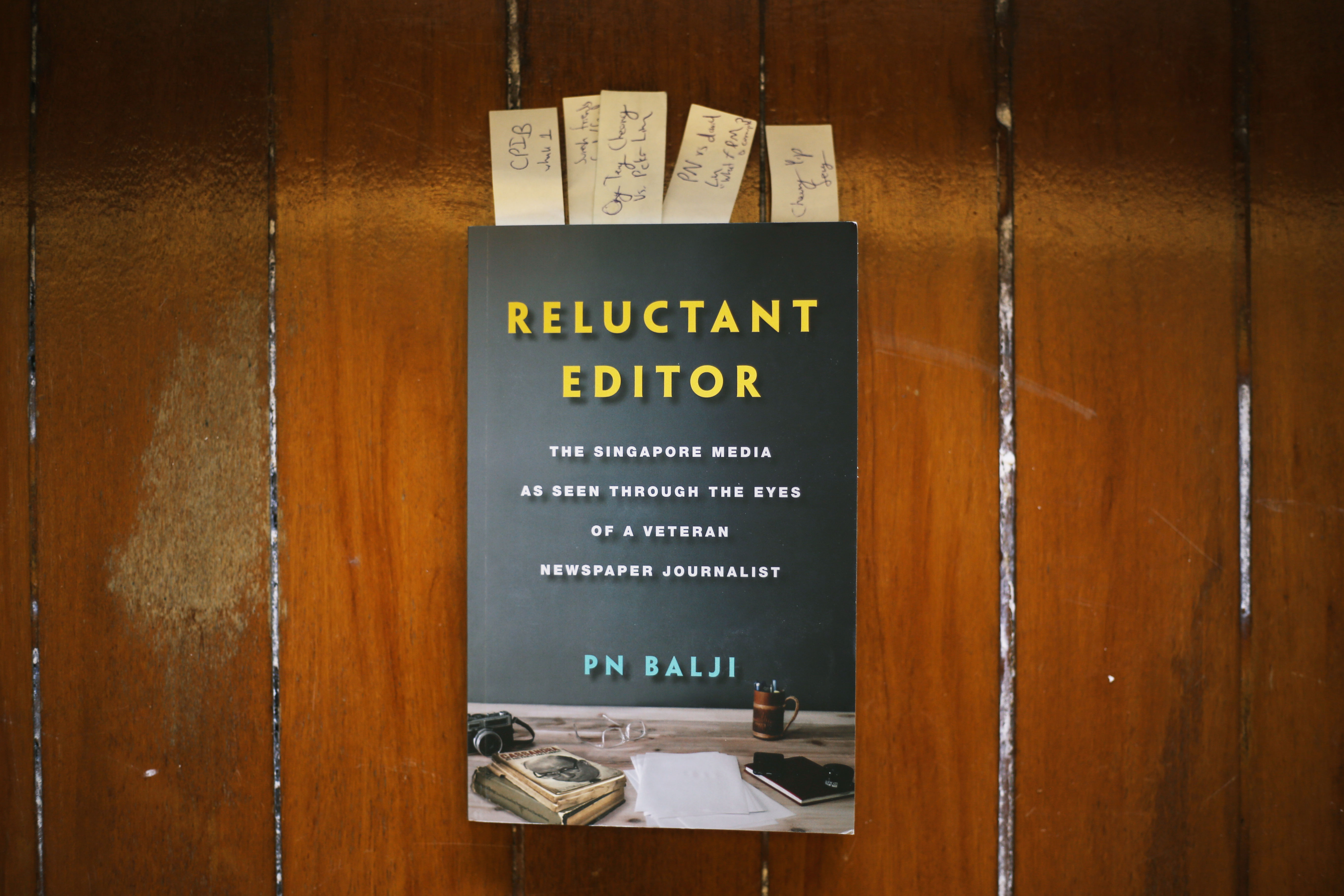 PN Balji's Reluctant Editor is A Must-Read to Understand Singapore's Media Landscape