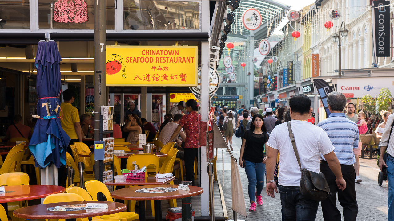 One Afternoon At The Most Touristy Zi Char In Chinatown