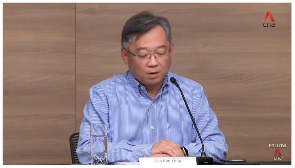 gan kim yong press conference