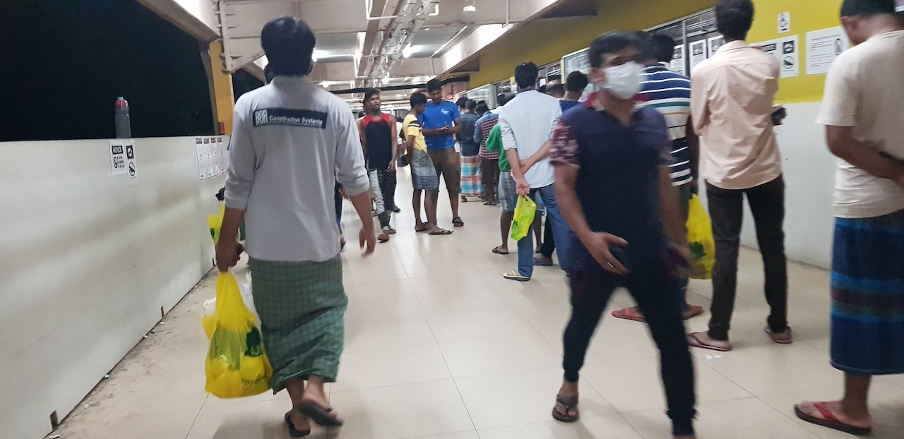 Amidst Chaos and Confusion, Migrant Workers Describe Fears Over Safety and Salaries