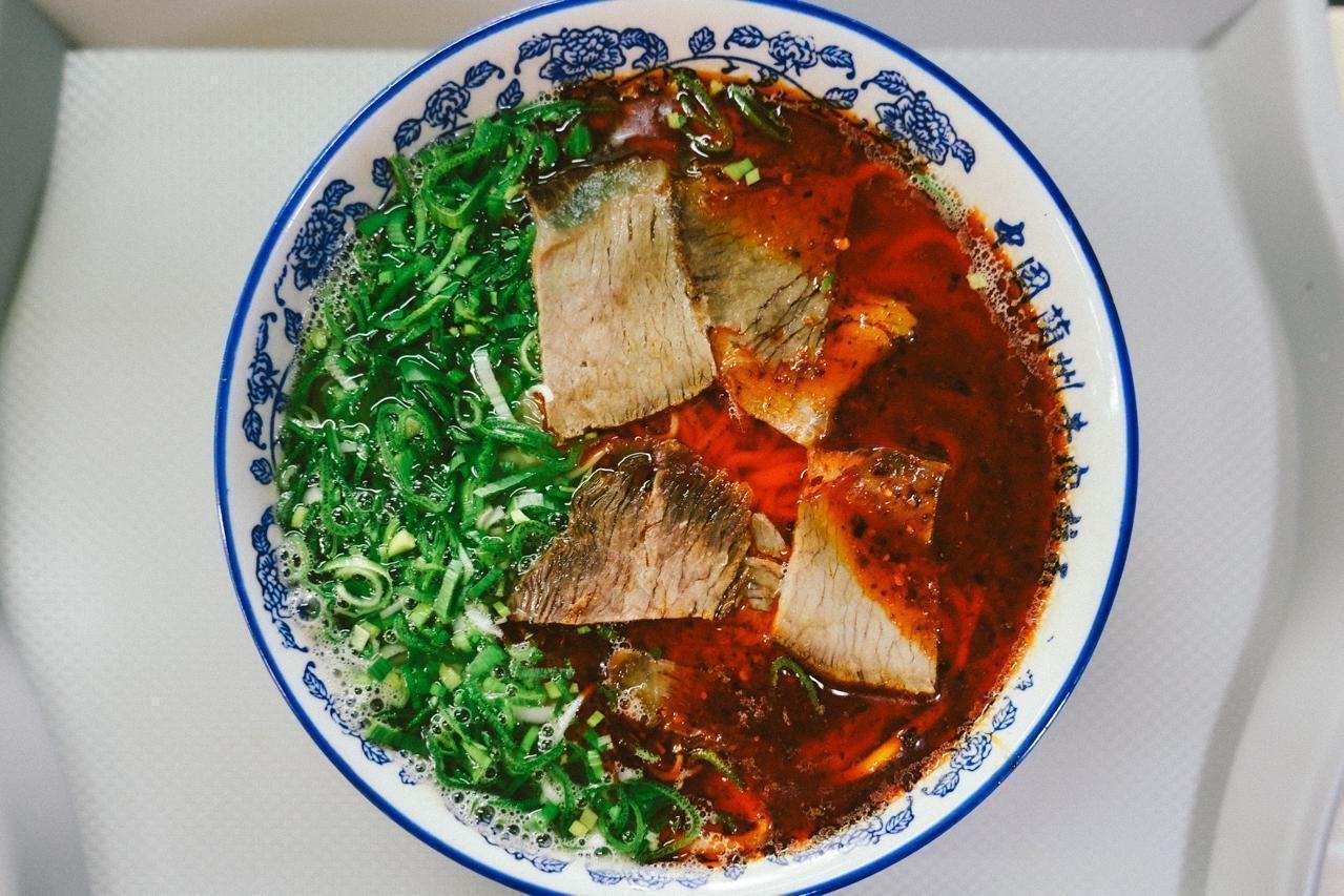 Lan Zhou Beef Noodles, aka $5 goodness.