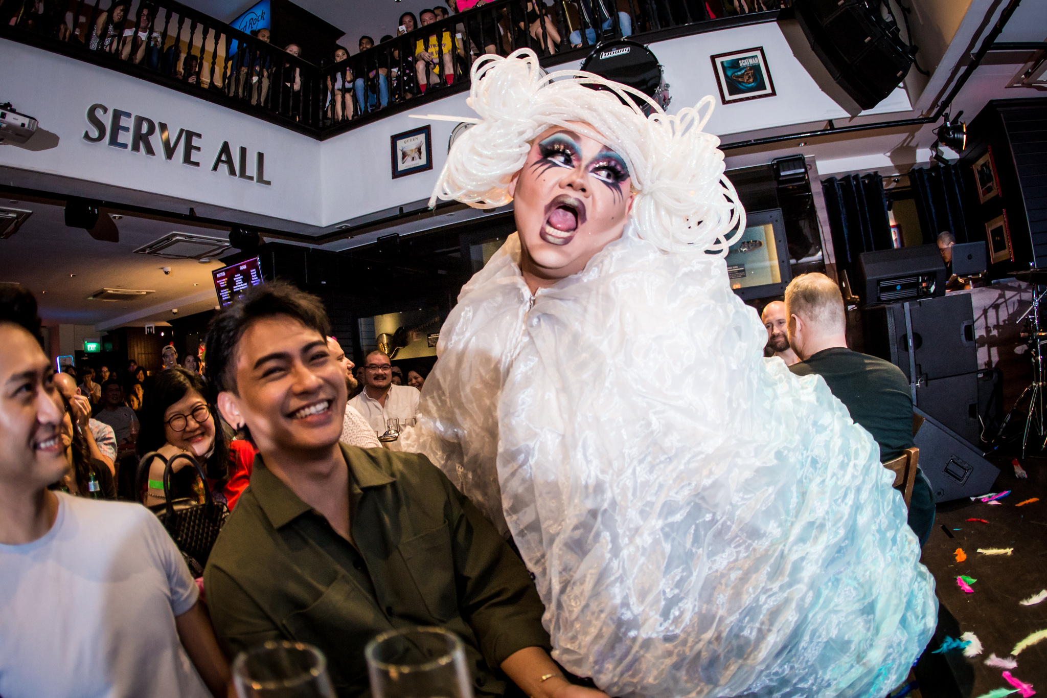 To Paint a Picture of Chaos: A Look Inside The World of T:> Works' Cabaret Joy