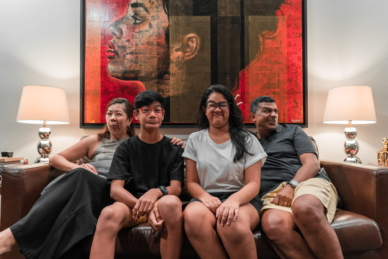 Inter-Ethnic Households in Singapore: How a Chinese-Indian Family Celebrates Their Differences
